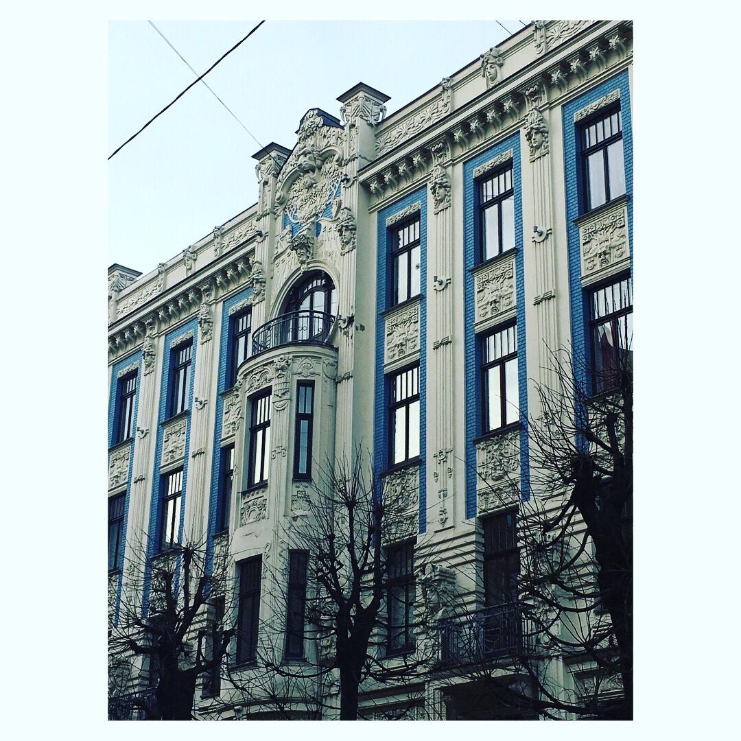 """Rygos architektūra – """"nouveau"""" brangakmeniai"""