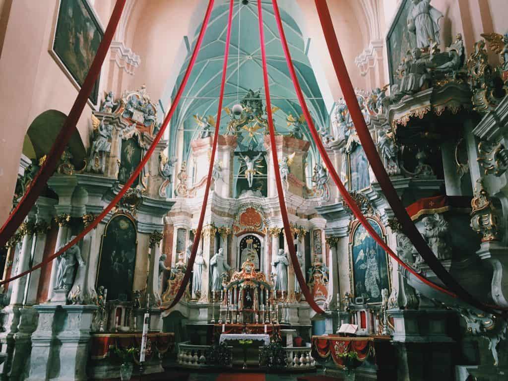 tytuvenai, tytuvėnai, tytuvėnų vienuolynas, bažnyčia, baznycia